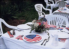 Montclair Bed & Breakfast, american flag